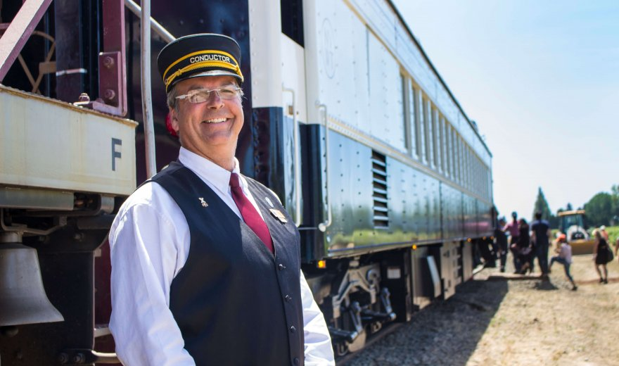 The Wine Train Conductor