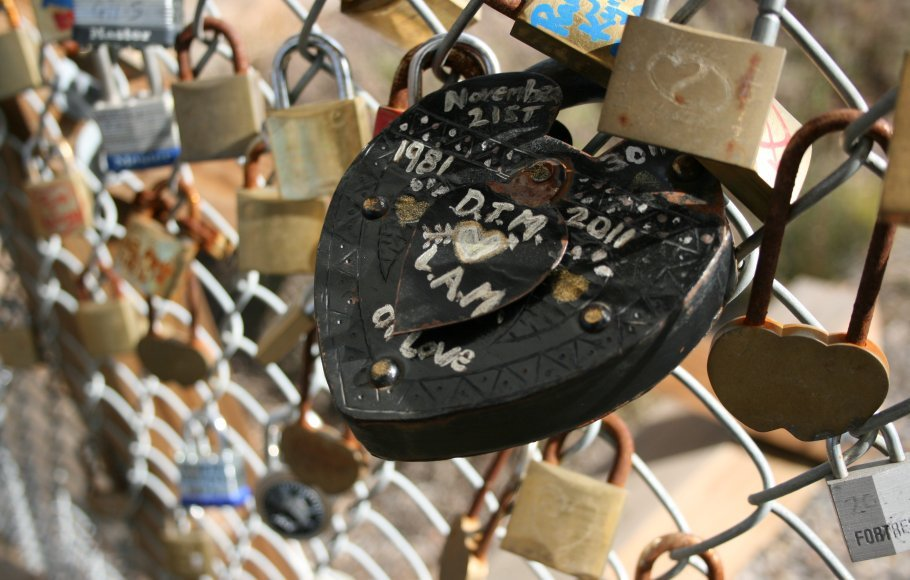 Love Lock Bridge 2