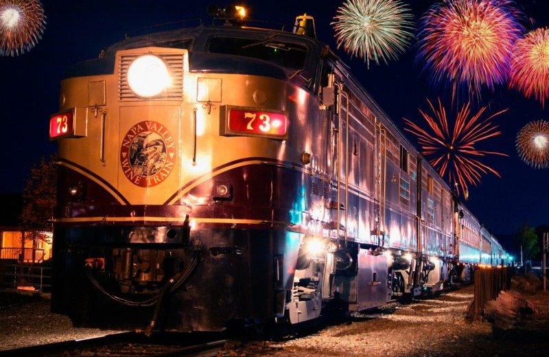 Fireworks Train